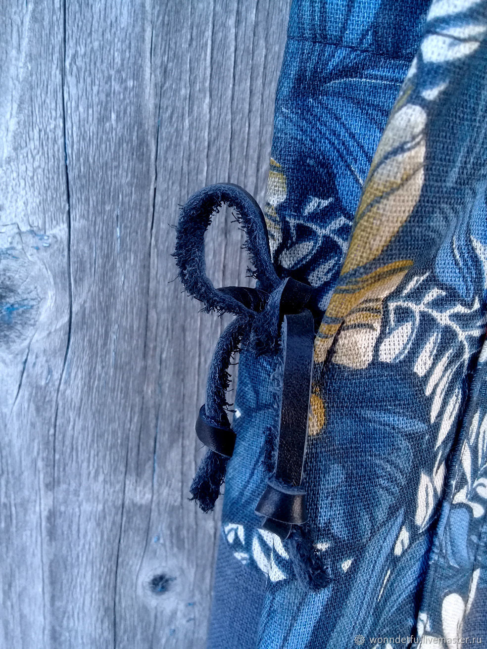 Сумка из льна William Morris