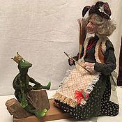 """Куклы и игрушки ручной работы. Ярмарка Мастеров - ручная работа Баба - Яга """"Отдай мою стрелу"""". Handmade."""