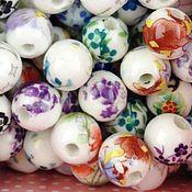 Материалы для творчества ручной работы. Ярмарка Мастеров - ручная работа Бусины керамические. Handmade.