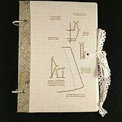 Канцелярские товары ручной работы. Ярмарка Мастеров - ручная работа Блокнот рукодельницы N2. Handmade.
