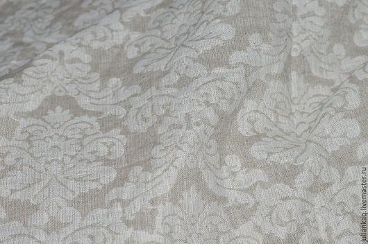 """Текстиль, ковры ручной работы. Ярмарка Мастеров - ручная работа. Купить Плед покрывало из льна """" Теплые вечера"""". Handmade."""