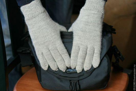 Варежки, митенки, перчатки ручной работы. Ярмарка Мастеров - ручная работа. Купить мужские перчатки. Handmade. Мужские перчатки, перчатки