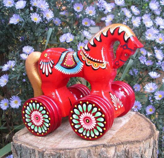 Деревянная игрушка, игрушка деревянная, игрушка из дерева, из дерева игрушка, деревянные игрушки, игрушки деревянные, игрушки из дерева, подарок ребенку игрушка, подарок ребенку лошадка.