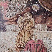 """Картины и панно ручной работы. Ярмарка Мастеров - ручная работа Картина """"Космическое время"""". Handmade."""