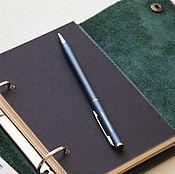 Канцелярские товары handmade. Livemaster - original item Leather diary A6. Handmade.