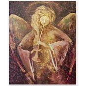 Картины и панно handmade. Livemaster - original item Painting with an angel