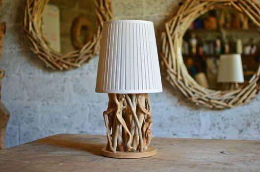 Освещение ручной работы. Ярмарка Мастеров - ручная работа. Купить Лампа Driftwood. Handmade. Лампа, коряга, lighter, лак