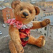 Мишки Тедди ручной работы. Ярмарка Мастеров - ручная работа Мишка Тедди, 22 см, из антикварного плюша. Handmade.