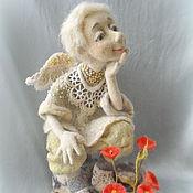 """Куклы и игрушки ручной работы. Ярмарка Мастеров - ручная работа Кукла из шерсти  """"И на камнях растут цветы..."""". Handmade."""