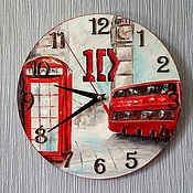 Для дома и интерьера ручной работы. Ярмарка Мастеров - ручная работа Часы One Direction  в Лондоне. Handmade.