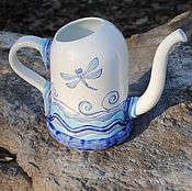 Цветы и флористика handmade. Livemaster - original item Ceramic watering can