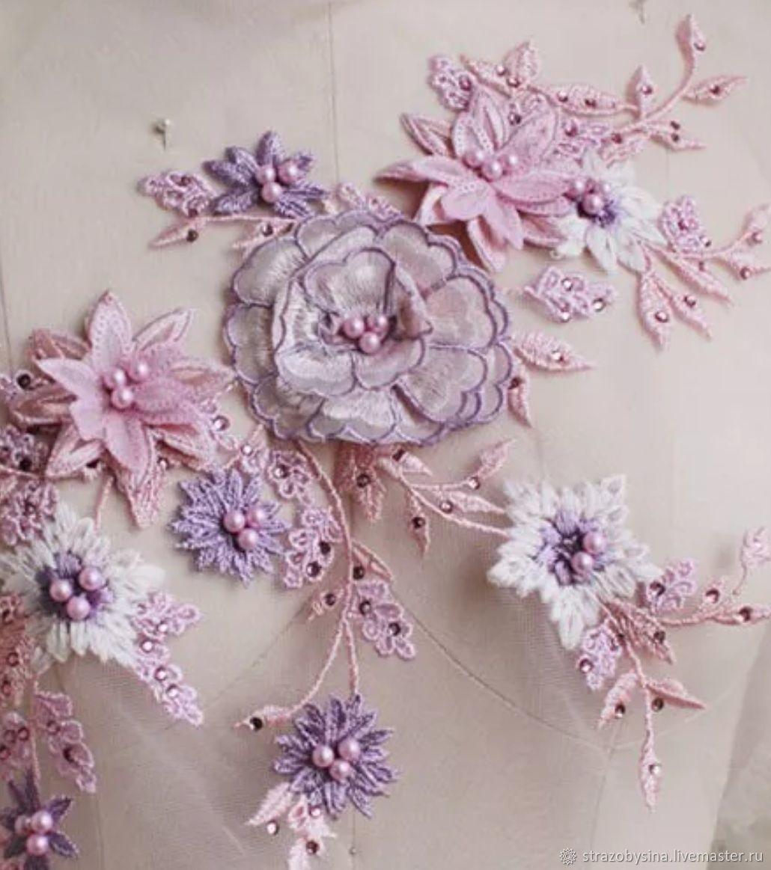 Кружевная вышивка для украшения одежды, Аппликации, Санкт-Петербург,  Фото №1