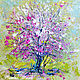 The painting 'cherry blossoms Dance of Spring', Pictures, Voronezh,  Фото №1