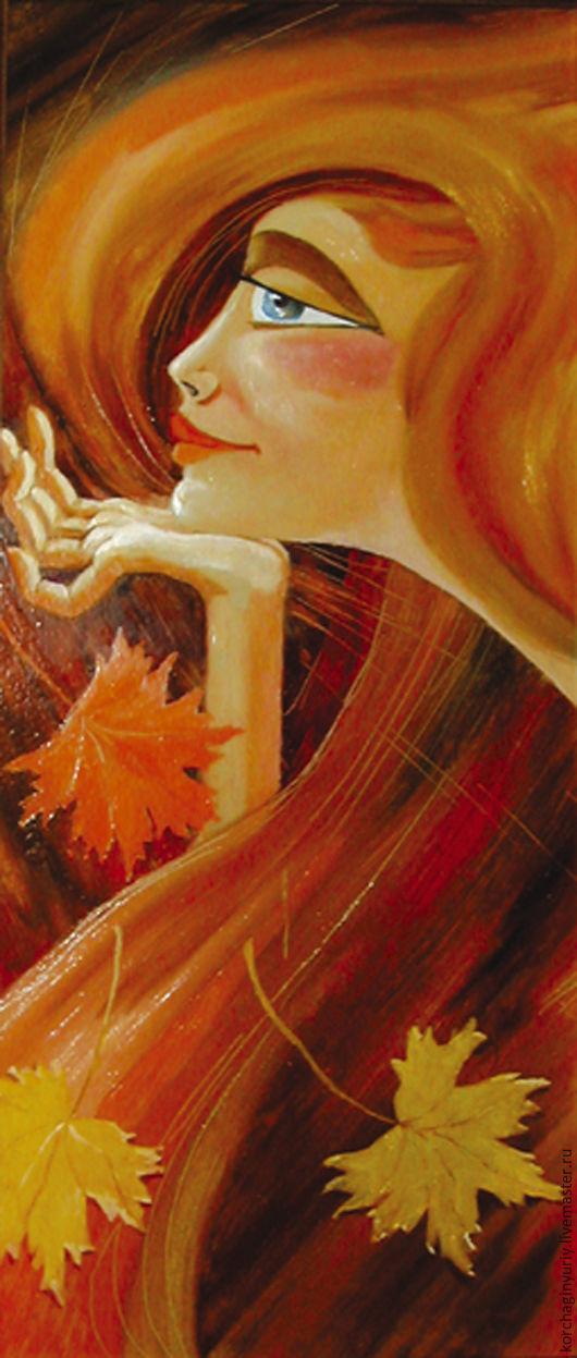 Люди, ручной работы. Ярмарка Мастеров - ручная работа. Купить Девушка осень. Handmade. Осень, девушка, листья, Рыжая, романтика