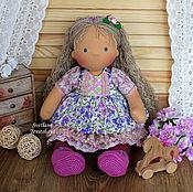 Куклы и игрушки ручной работы. Ярмарка Мастеров - ручная работа Анюта. Игровая текстильная кукла. Handmade.