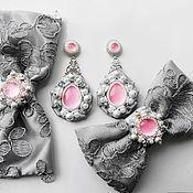 Комплекты украшений ручной работы. Ярмарка Мастеров - ручная работа Свадебный комплект Irina. Handmade.