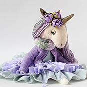 Мягкие игрушки ручной работы. Ярмарка Мастеров - ручная работа Единорожка  Unicorn Doll. Handmade.