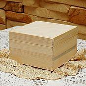 Материалы для творчества ручной работы. Ярмарка Мастеров - ручная работа Шкатулка маленькая. Handmade.