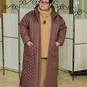 Одежда ручной работы. Ярмарка Мастеров - ручная работа Пальто стеганое. Handmade.