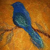 """Одежда ручной работы. Ярмарка Мастеров - ручная работа Жакет """"Синяя птица"""". Handmade."""
