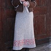 Одежда ручной работы. Ярмарка Мастеров - ручная работа Юбка Уютная Зима. Handmade.