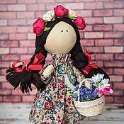Куклы и игрушки handmade. Livemaster - original item Interior textile doll Vesnyanka. Handmade.