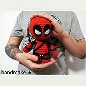 Куклы и игрушки ручной работы. Ярмарка Мастеров - ручная работа Мягкая игрушка большой Дэдпул. Handmade.
