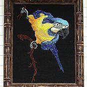 Картины и панно handmade. Livemaster - original item Paintings: embroidery with beads Arkasha interior. Handmade.