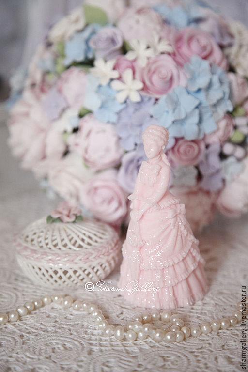"""Мыло ручной работы. Ярмарка Мастеров - ручная работа. Купить """"Дама"""". Мыло ручной работы, 3D.. Handmade. Красивое мыло"""