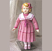 Куклы и игрушки handmade. Livemaster - original item Doll in an antique style Gretchen. Handmade.