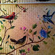 """Дизайн и реклама ручной работы. Ярмарка Мастеров - ручная работа Роспись потолка """"Birdsong"""". Handmade."""