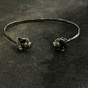 Украшения handmade. Livemaster - original item Bronze bracelet knights. Handmade.
