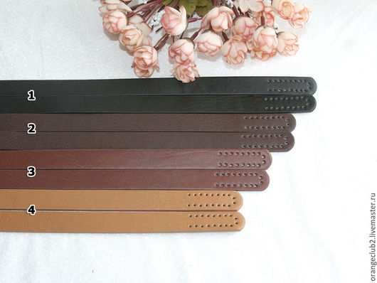 Другие виды рукоделия ручной работы. Ярмарка Мастеров - ручная работа. Купить Ручки для сумок пришивные 4 цвета. Handmade.