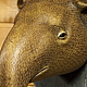 Интерьерные  маски ручной работы. Голова тапира на стену. 500 эскимо. Ярмарка Мастеров. Кантри стиль, голова животного на стену
