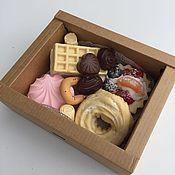 Косметика ручной работы. Ярмарка Мастеров - ручная работа Набор сладостей из мыла N1. Handmade.