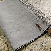 Аксессуары handmade. Livemaster - original item Scarves: Handmade woven scarf made of Italian yarn flax lurex. Handmade.