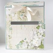 Свадебный салон ручной работы. Ярмарка Мастеров - ручная работа Свадебный почтовый ящик для пожеланий. Handmade.