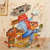 Картины и панно ручной работы. Ярмарка Мастеров - ручная работа Дедушкины сказки. Handmade.