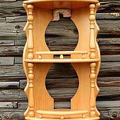 Для дома и интерьера handmade. Livemaster - original item Corner shelf.3-tier. Handmade.