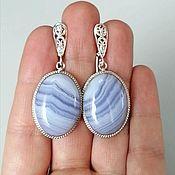 Украшения handmade. Livemaster - original item Earrings of agate. Handmade.