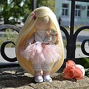 """Куклы и игрушки ручной работы. Ярмарка Мастеров - ручная работа Текстильная кукла в стиле Тильда """" Неженка"""". Handmade."""