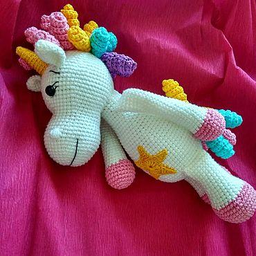 Куклы и игрушки. Ярмарка Мастеров - ручная работа Игрушки: Единорог (Пони). Handmade.