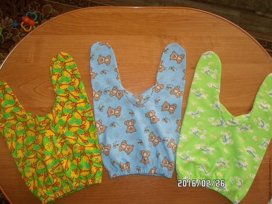 Ползунки для новорожденных! Размер 56-60. Для примера!