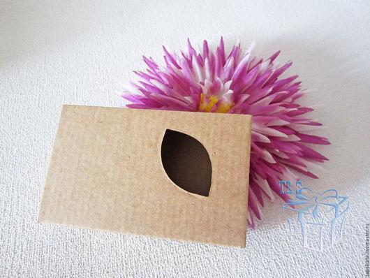 Упаковка ручной работы. Ярмарка Мастеров - ручная работа. Купить Коробка крафт с окошком, 11х7х3 см, крафт коробочка, коробки для мыла. Handmade.