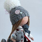 Куклы и игрушки ручной работы. Ярмарка Мастеров - ручная работа Текстильная куколка Хельга. Handmade.