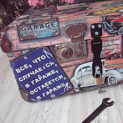 Сувениры и подарки handmade. Livemaster - original item suitcase for a mechanic. Handmade.