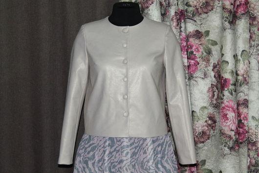 Верхняя одежда ручной работы. Ярмарка Мастеров - ручная работа. Купить Куртка. Handmade. Бежевый, стильная куртка, красивая одежда