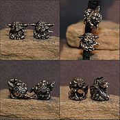 Beads1 handmade. Livemaster - original item Yoda charm. Handmade.