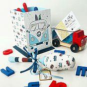 Канцелярские товары ручной работы. Ярмарка Мастеров - ручная работа Карандашница для мальчика. Handmade.