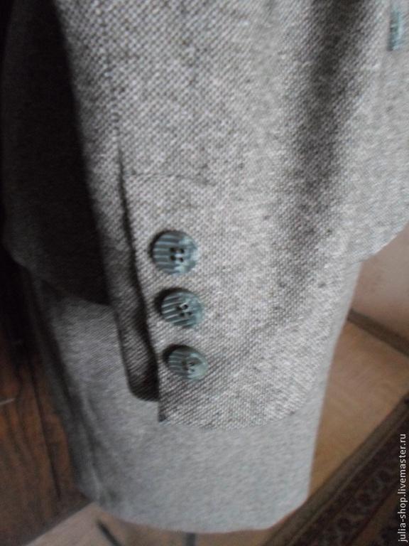 Деловой серый женский костюм доставка